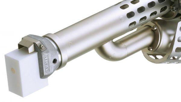 Leister FUSION 3C detalhe tubo de extrusão