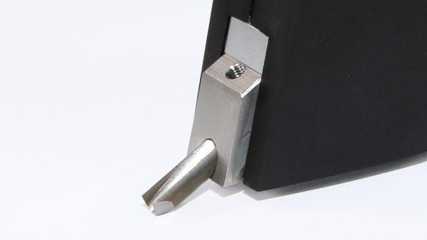 Fresa manual Leister GROOVY detalhe lâmina