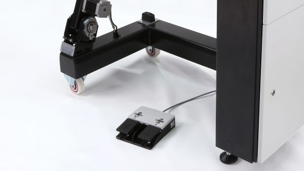 Leister SEAMTEK 900 AT detalhe pedal
