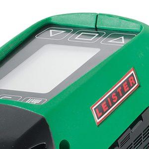 Leister WELDPLAST S2 PVC detalhe display
