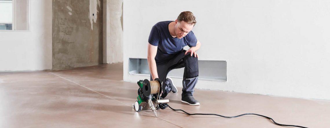 Ferramentas Profissionais para soldagem e instalação de pisos vinílicos